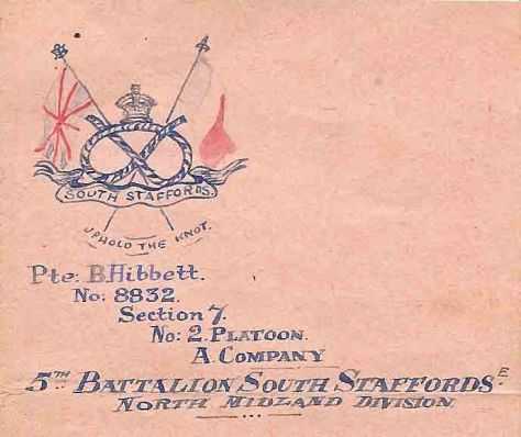 Decorative Letter Heading. 1915.