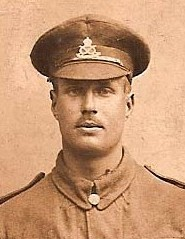 Centre: Sgt S. HIBBETT when training as a Sergeant.