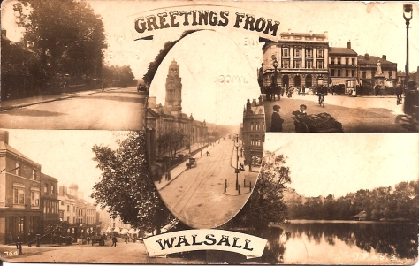Greetings from Walsall