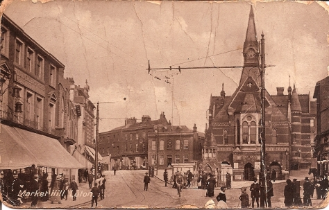 Market Hill, Luton Sept 4. 1914