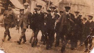 Sept 1914 March Walsall Crop
