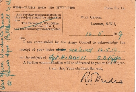 WarOffice Card 2