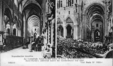 Ypres before & After