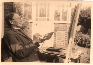 The Revd. A.H.Hibbett, Louth 1960s.