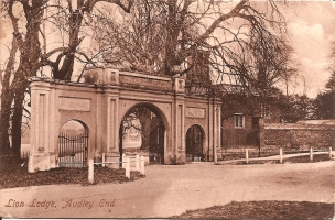 Lion Lodge Audley End, Saffron Walden.