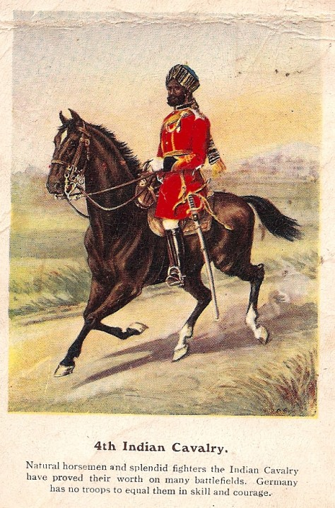 4th Indian Cavalry.
