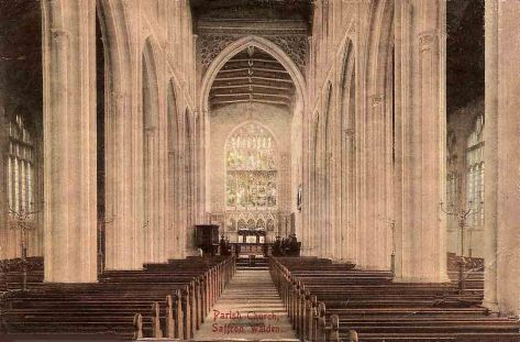 Saffron Walden Church 1914.