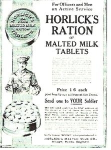 Malted Milk Tablets.