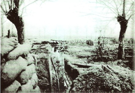 Trench 8 Wulverghem. May 1915.