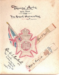 Troops Autos & their Cigarettes. THE QUEEN'S WESTMINSTER. South Africa 1900- 1902.