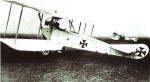 AVIATIC -C.1became principal German Reconnaissance Aeroplane from 1915. 160hp Mercedes engine.  Max. speed 89mph; ceiling 11,480 ft.
