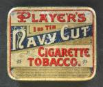Players Navy Cut Tobacco.