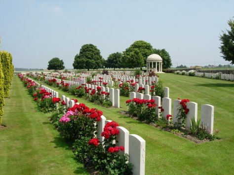 Bedford House British & Commonwealth Cemetery.