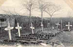Soldiers' Graves at Vermelles.