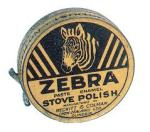 Zebra Polish Tin c. 1930.