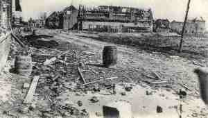 Neuve Chapelle after Battle, March 1915.