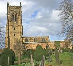 St Bartholomew's Church Elvaston Derby.