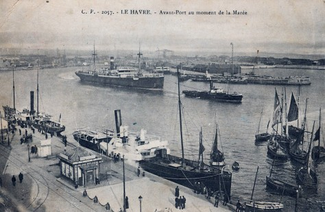 Le Havre. 1915.