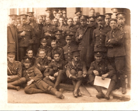Tavistock St Billets, Luton. 1/5th S. Staffords. 1914.
