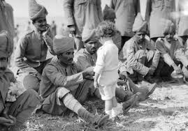 Indian soldiers arriving in France. 1914. ww1blog.osborneink.com