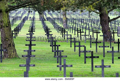 German War Graves Neuville St Vaast.