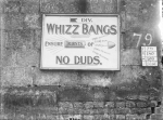 Whizz bangs Concert Poster Dec. 1916.