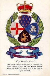 Inns of Court Badge.