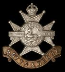 Sherwood Foresters (Notts & Derby) Regt. badge.