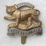 Leicester Regt badge