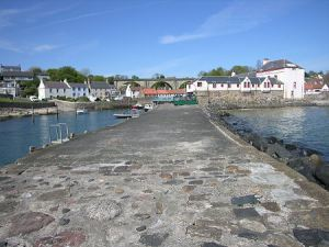 Lower Largo Harbour Pier, Fife, Scotland