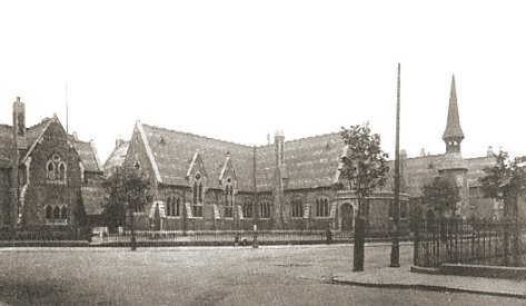 Blue Coats School Walsall. c 1914.