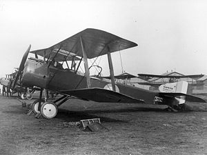 WW1 British Sopwith Strutter.