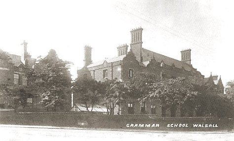 Queen Mary's Grammar School Walsall.